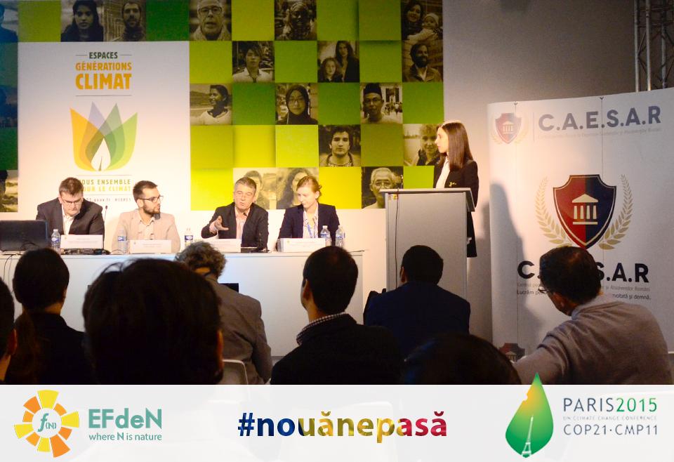 EFdeN la COP21, Paris